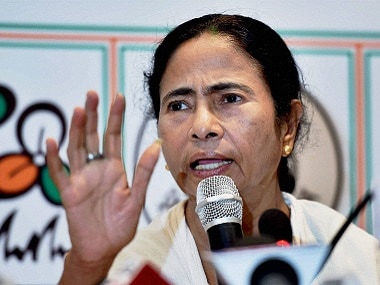 File image of West Bengal chief minister and TMC Supremo Mamata Banerjee. PTI