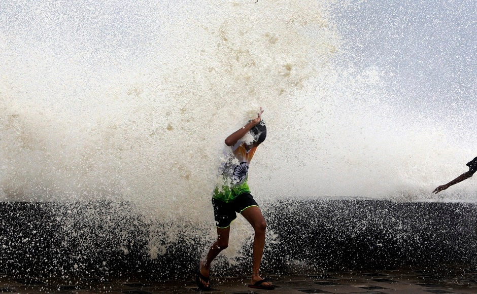 Heavy rains driven by Cyclone Ockhi lashed Mumbai and its adjoining areas on Tuesday. With 22 mm of rain in the last 24 hours, Mumbai has broken a decade old record. PTI