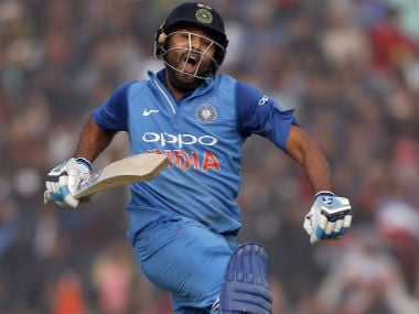 India vs Sri Lanka: Rohit Sharma's third ODI double ton powers India to 392/4 in Mohali