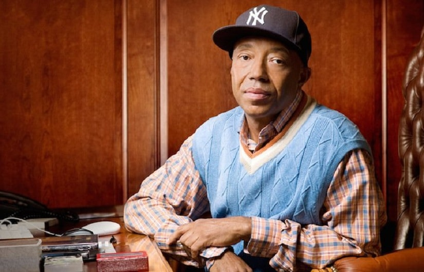 Russell Simmons. Image from Twitter/@geenice