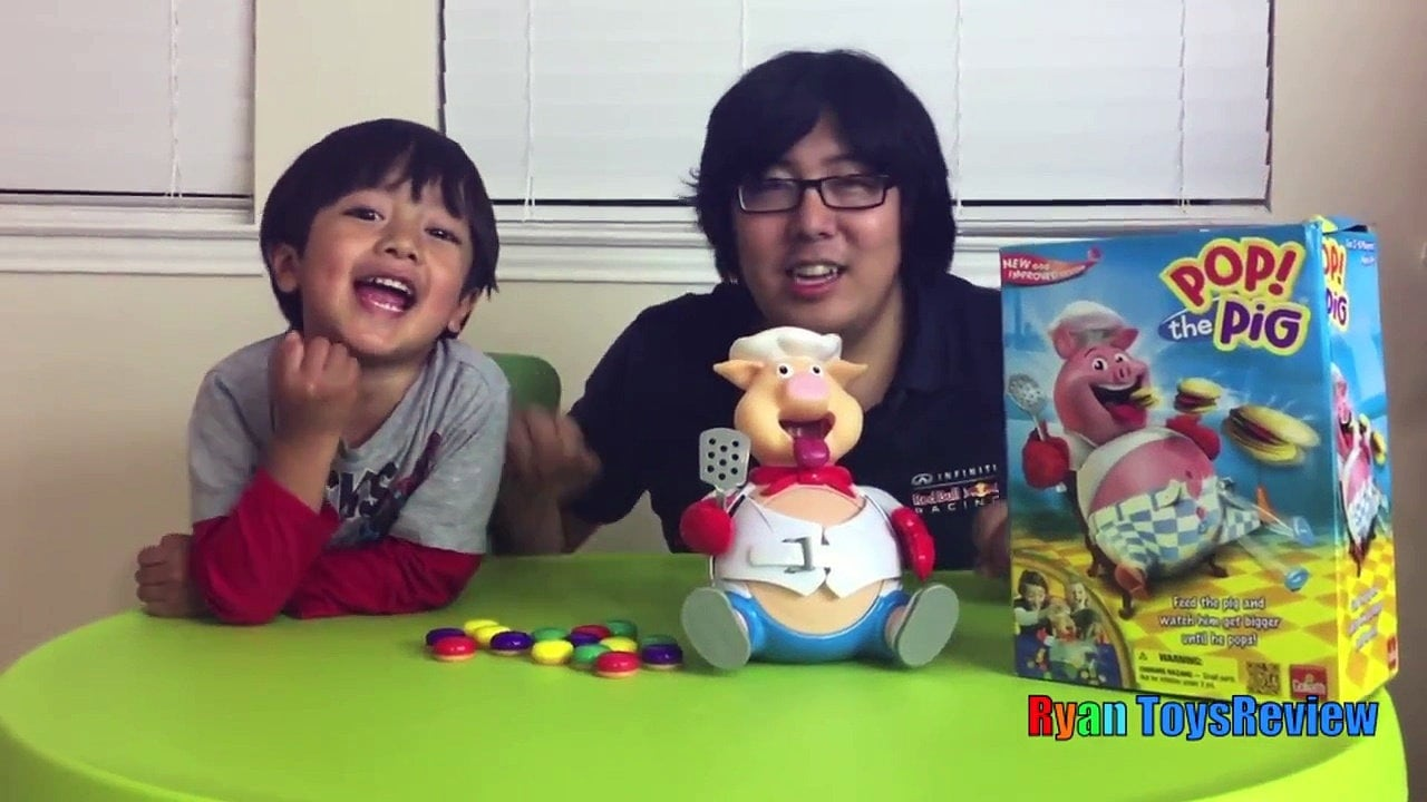 A still from Ryan Toys Review. YouTube