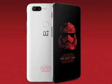 OnePlus 5T Star Wars Limited Edition. Image: OnePlus