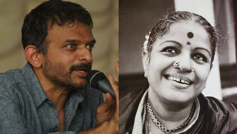 TM Krishna and MS Subbulakshmi. Images from Wikimedia Commons and Facebook/@mssubbulakshmi