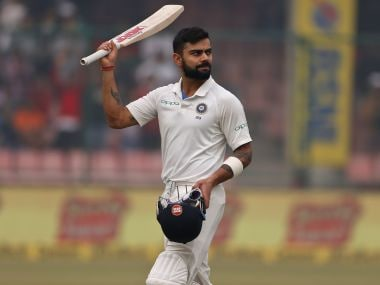 File image of India's captain Virat Kohli. AP
