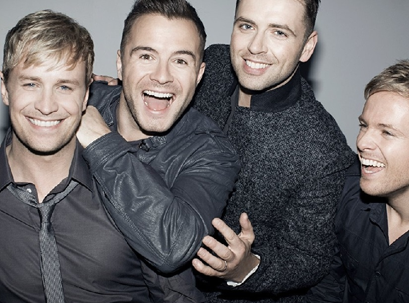 Westlife. Image from Twitter/@MariaSkuthalla.