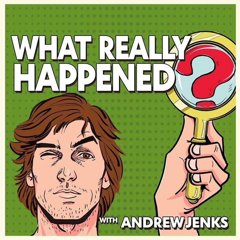 Andrew Jen's What Really Happened. Image from Facebook/@AndrewJenksOfficial