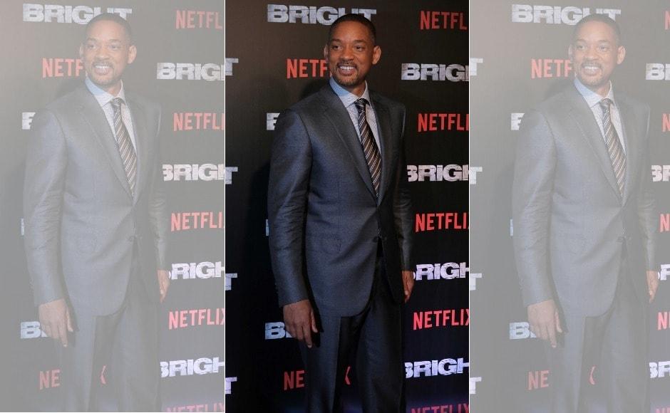 Bright: Will Smith, Joel Edgerton attend Mumbai premiere of Netflix's sci-fi film