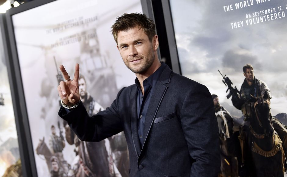 Chris Hemsworth, Matt Damon, Michael Shannon attend world premiere of 12 Strong in New York