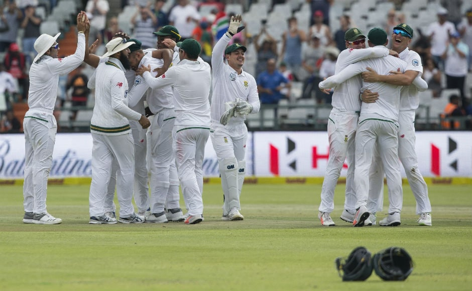 What a day of cricket in Cape Town! 18 wickets fell on Day 4 of the first Test and hosts South Africa ended yup taking a 1-0 lead in the three-match Test series after beating India by 72 runs. AP