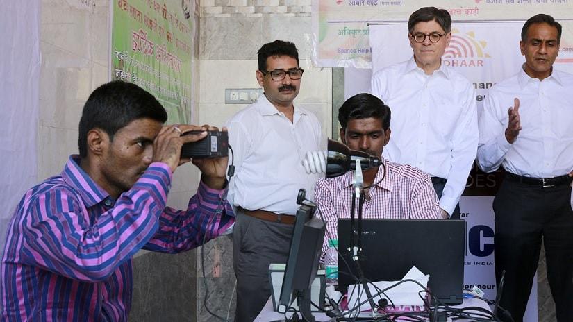 Aadhaar. Representational image. Reuters