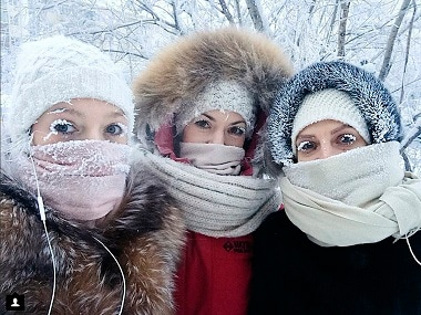 'So cold, even the eyelashes freeze': Russia's remote Yakutia region records minus 67 degrees Celcius