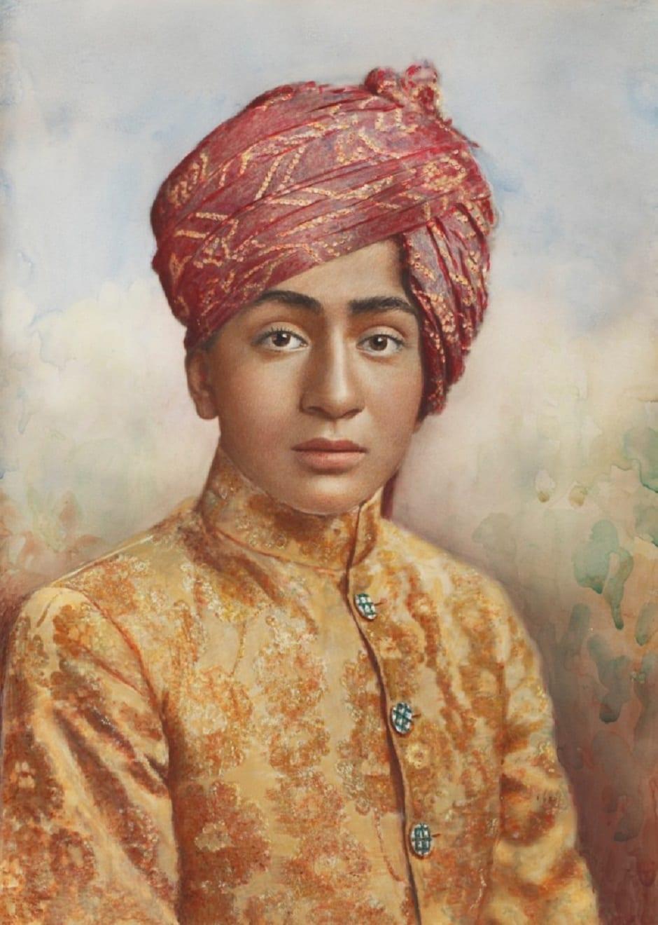 Prince of Morvi, Lafayette Studios. Courtesy Sarmaya Collection, Mumbai