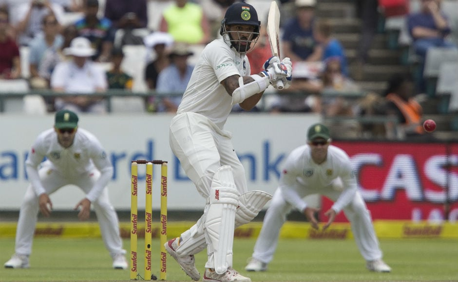 India had a decent opening stand with 30-run partnership between Shikhar Dhawan and Murali Vijay. But when the first wicket of Dhawan fell, the floodgates were open. AP