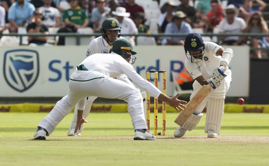 Just like South Africa, Indians also kept losing wickets and with each wicket, the win looked elusive. The batting unit simply had no answers to South Africa's pace attack. AP