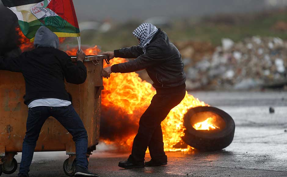 On Tuesday, a general strike was observed in the Palestinian territories, but there were expressions of resignation among some. A spokesman for Palestinian president Mahmud Abbassaid the strike was a