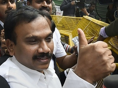 File image of former telecom minister A Raja. PTI