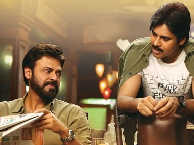 Agnyaathavaasi makers include special cameo scene featuring Venkatesh in Pawan Kalyan-starrer