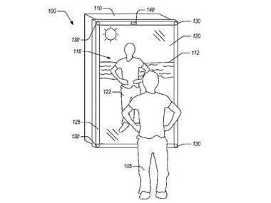 Amazon patents a 'blended-reality mirror' technology that lets you try on virtual clothes at your home