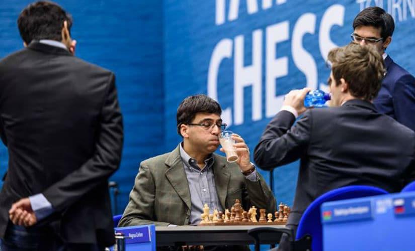 Tata Steel Chess Round 9: Viswanathan Anand draws against Magnus Carlsen; Anish Giri leads after defeating Maxim Matlakov