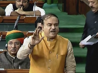 File image of Union minister Ananth Kumar. PTI