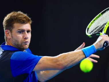 Ryan Harrison, who was among the four players who withdrew from Auckland. Reuters
