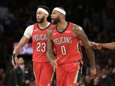 NBA: Anthony Davis powers Pelicans past Knicks with 48-point performance, Timberwolves rout Trail Blazers