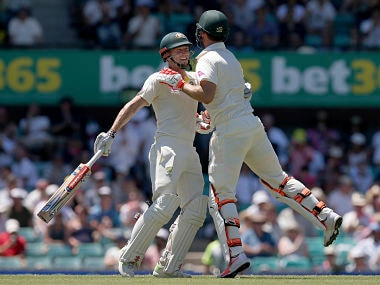 Ashes 2017: Nathan Lyon, Marsh brothers put Australia on brink of victory against England