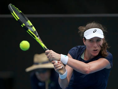 World No 9 Johanna Konta looks to take positives from challenging start to season