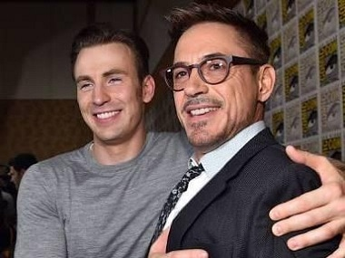 Robert Downey Jr is irreplaceable as Iron Man, says Avengers co-star Chris Evans