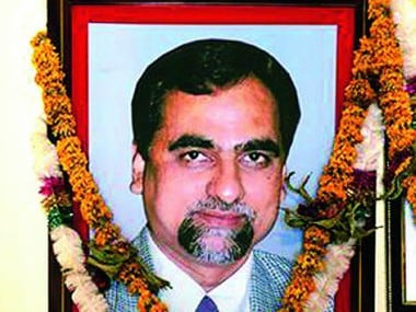 A file image of late judge BH Loya. Image sourced from Facebook