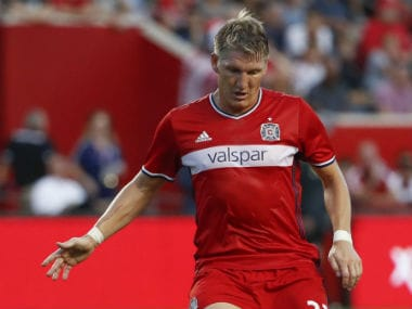 Bastian Schweinsteiger had first signed with Chicago Fire in a one-year deal in 2017. Reuters