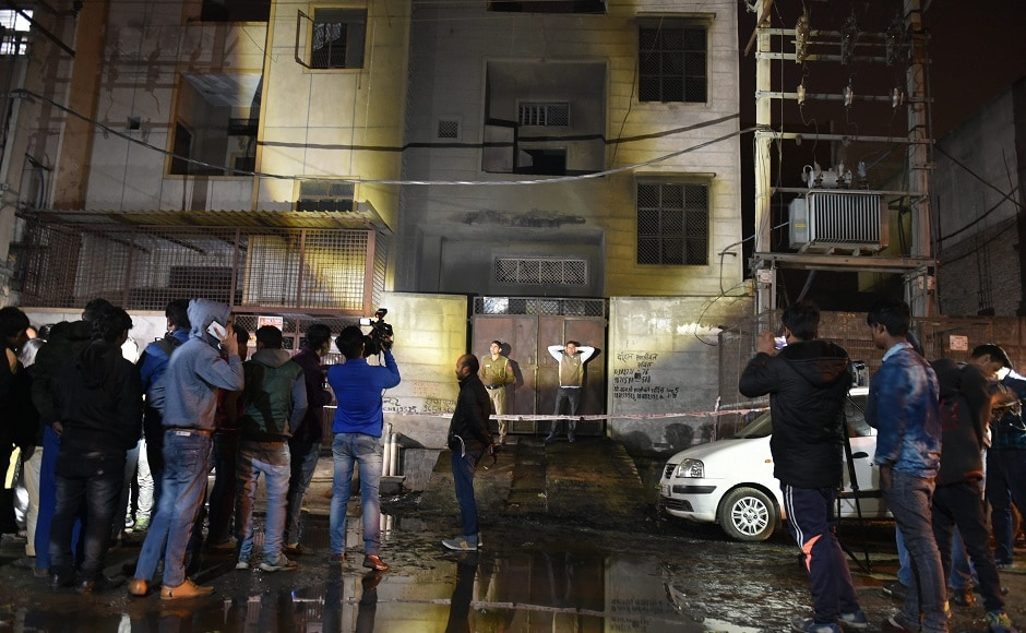 The Delhi Police arrested a man in connection with the fire. Manoj Jain, who was apprehended by the police, said that he took the factory premises on rent and was running it alone. PTI