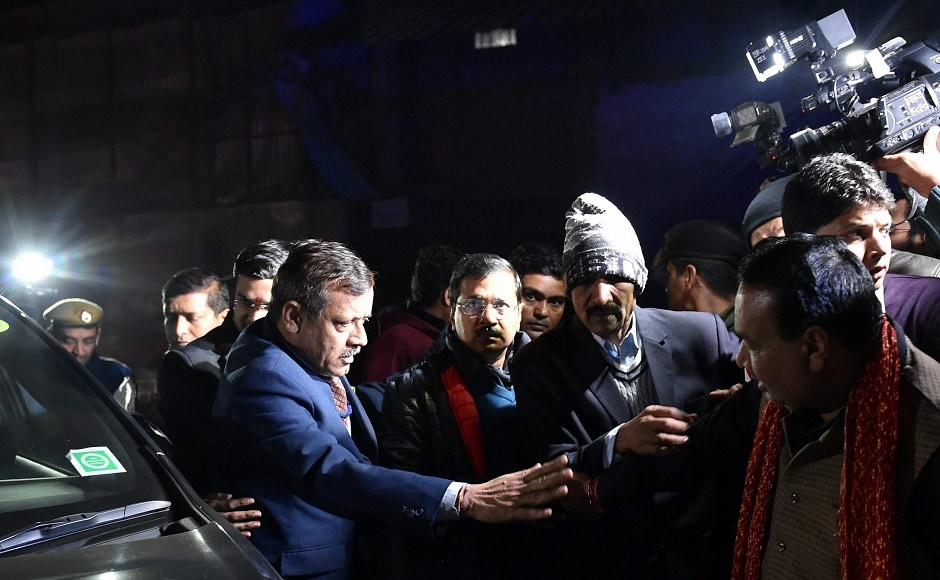 Delhi chief minister Arvind Kejriwal visited the cracker factory and ordered an inquiry into the incident. He also announced a compensation of Rs 5 lakh each to the family of the deceased. PTI
