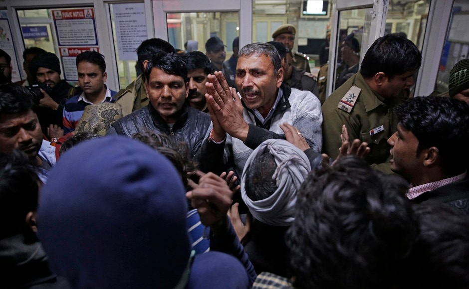 The Delhi Fire Services received a call about the blaze at the factory at around 6.20 pm and 10 fire tenders were rushed to the spot. The two injuredhave been admitted to the hospital. AP