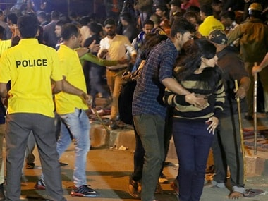Bengaluru: Video surfaces showing couple being thrashed on New Year's eve; Karnataka minister says clip false