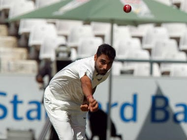 India vs South Africa: Bhuvneshwar Kumar set to be dropped; Parthiv might replace Saha in 2nd Test