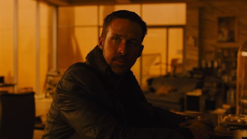 A still from Blade Runner 2049