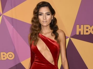 Actress Blanca Blanco criticised for ignoring all-black dress code at Golden Globes