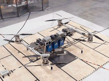 Boeing unveils a prototype for an unmanned electric cargo air vehicle that can do vertical take off and landing