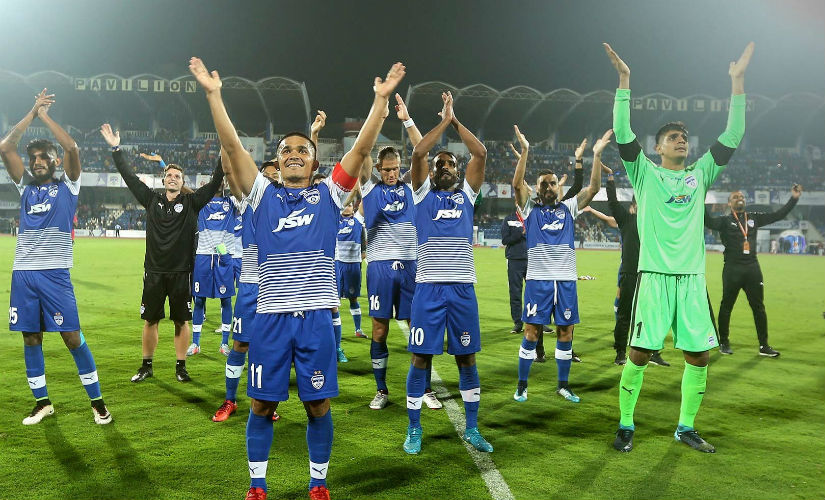 Sensational Sunil Chhetri scored a scintillating goal for Bengaluru FC and that was enough for them to beat travelling ATK. ISL