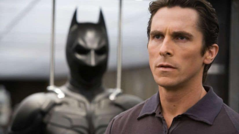 Christian Bale in Christopher Nolan's The Dark Knight Trilogy