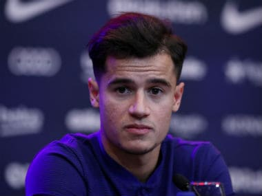 Barcelona's new signing Philippe Coutinho. Reuters