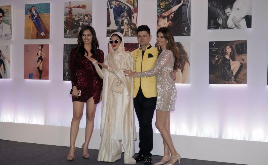 Dabboo Ratnani calender 2018: Rekha, Abhishek Bachchan, Miss World Manushi Chhillar attend launch event