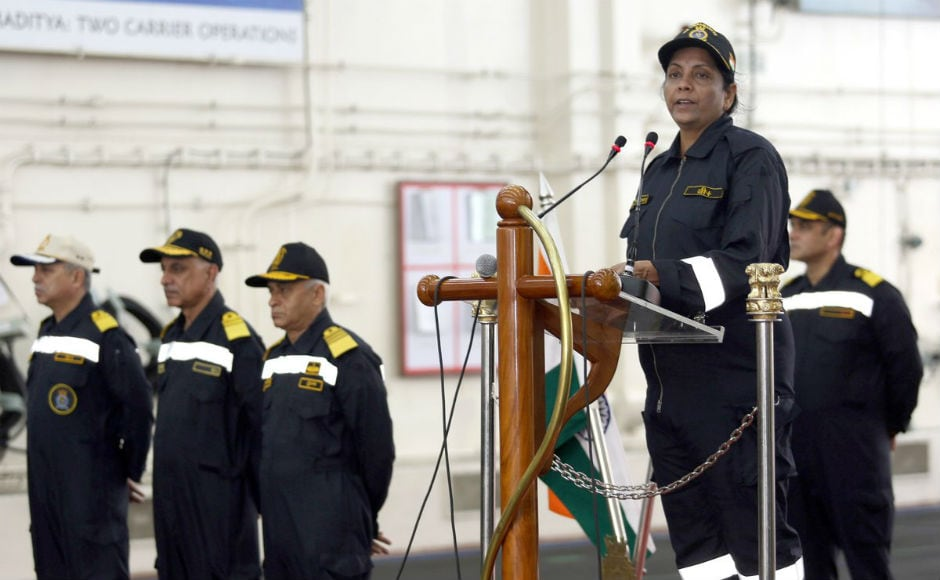 Addressing the officers, the defence minister said that