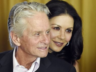 Catherine Zeta-Jones supports husband Michael Douglas amid sexual harassment claims, says he's a #MeToo supporter