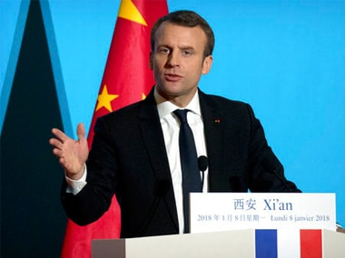 Europe needs united approach on foreign investment to gain China's respect, says French president Emmanuel Macron