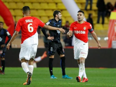 Ligue 1: AS Monaco snatch late draw in four-goal thriller against Nice; Marseille move up to 2nd with Strasbourg win