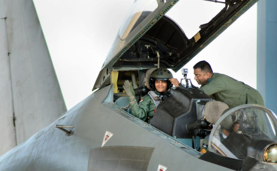 Nirmala Sitharaman flies in Sukhoi-30 MKI jet, describes sortie as an 'eye-opening' experience