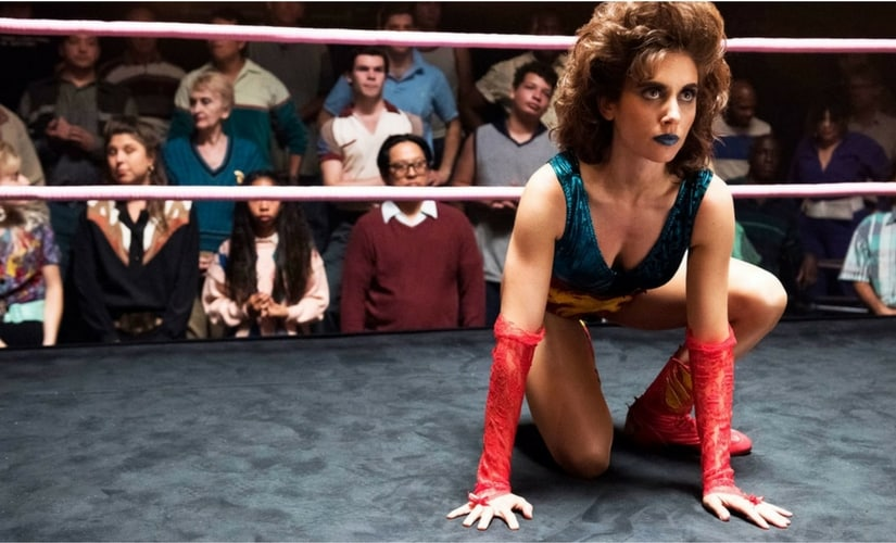 Alison Brie in GLOW/Image from Twitter.