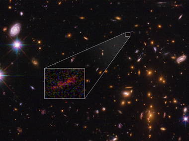 NASA scientists spot the farthest known galaxy in the universe; name it SPT0615-JD